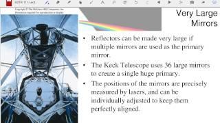 ASTR 111 Lecture 13 : Telescopes