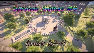 Survival Games #4 (Another win, Team killed !) | Minecraft Gameplay