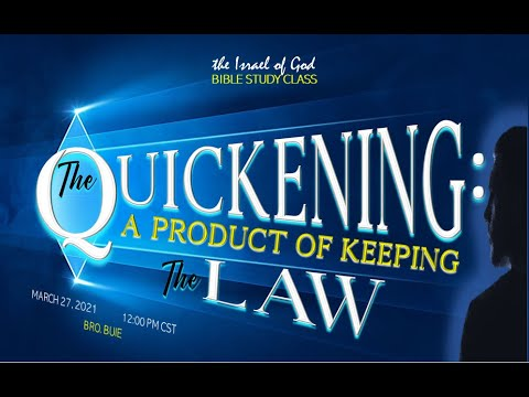"Download IOG - ""The Quickening: A Product of Keeping the Law"" 2021"