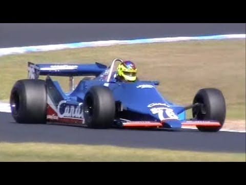 Best sounding Cosworth DFV V8 Tyrell 009 Phillip Island Classic 2007