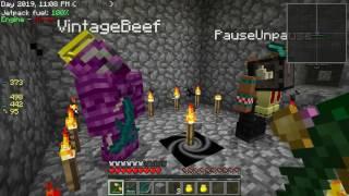 Minecraft - Sky Factory #46: Deep Dark Death