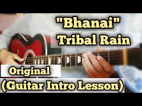 bhanai---tribal-rain- -guitar-intro-lesson- -intro-part- -capo-1 -original-tutorial- 