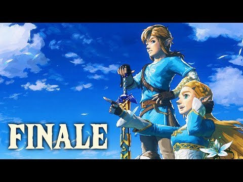 SAVING HYRULE  Lets Play  The Legend of Zelda: Breath of the Wild  28  Ending
