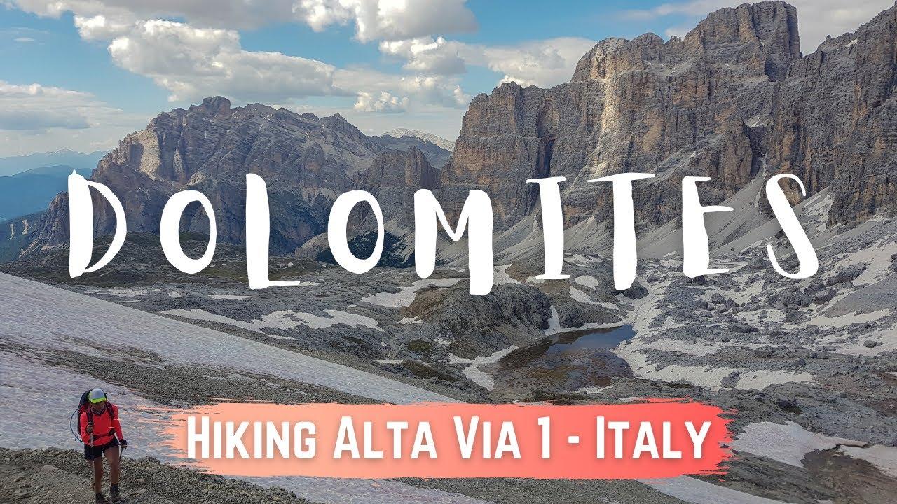 Höhenweg 1 dolomiten Dolomiten