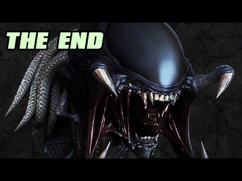 Let's Play Alien Vs Predator 3 Deutsch #04 Alien Story ENDE - Predalien