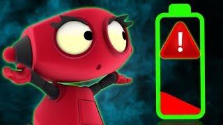 Rob The Robot | Team Power | Adventure Cartoon for Children by Oddbods & Friends