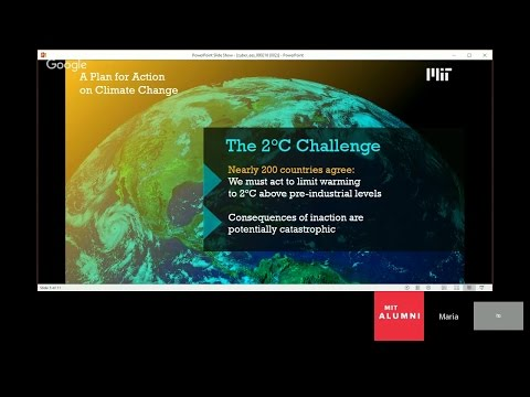 MIT's Plan for Action on Climate Change with Maria Zuber