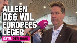 GSTV. Minister Ollongren wil Europees leger