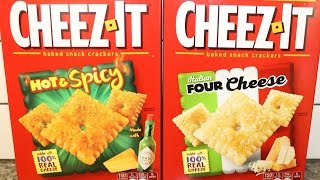 Cheez-It: Hot & Spicy and Italian Four Cheese Review