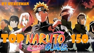 Naruto Top 150 Strongest Characters OUTDATED