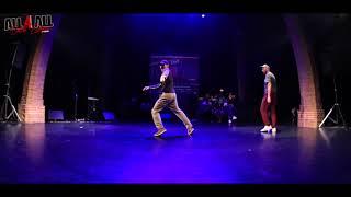 AARON EVO vs MIKA │ POPPING │ ALL 4 ALL BATTLE EUROPEEN 2017