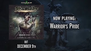 Luca Turilli's RHAPSODY – WARRIOR'S PRIDE from CINEMATIC AND LIVE (OFFICIAL TRACK)