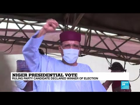 Bazoum declared winner of Niger's presidential election as clashes erupt