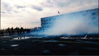 Հատուկ միջոցներ և ջրցան մեքենա․ ոստիկանության զորքերի զորավարժությունը