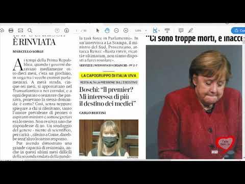 I giornali in edicola - la rassegna stampa 10/12/2020