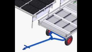 Mechanical Design And Drafting Example - Rolling Bench System