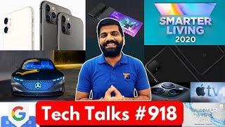 Tech Talks #918 - iPhone 11/11 Pro/11 Pro Max, Pixel 4 launch, Chandrayaan 2, AirTel 1Gbps, Mi Band