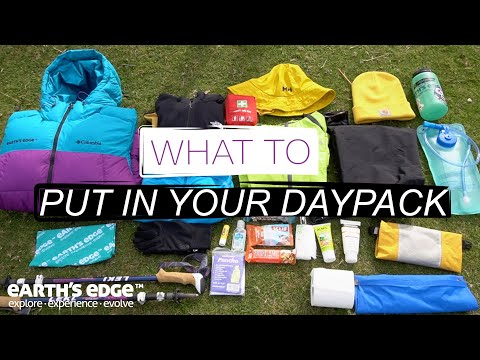 What to Put in your Daypack for Hiking Kilimanjaro | Everest Base Camp | Machu Picchu