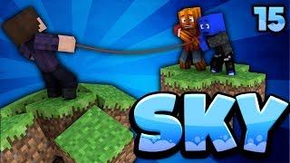 WIR RETTEN ZOMBEY! - Minecraft SKY #15 | DieBuddiesZocken