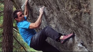 Five Ten 2014   Carlo Traversi   First Ascent of The Penrose Step V14