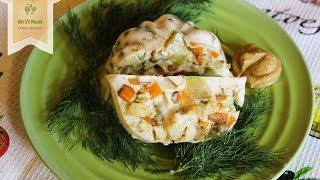 Овощное заливное на агар-агаре / Вегетарианский «холодец»