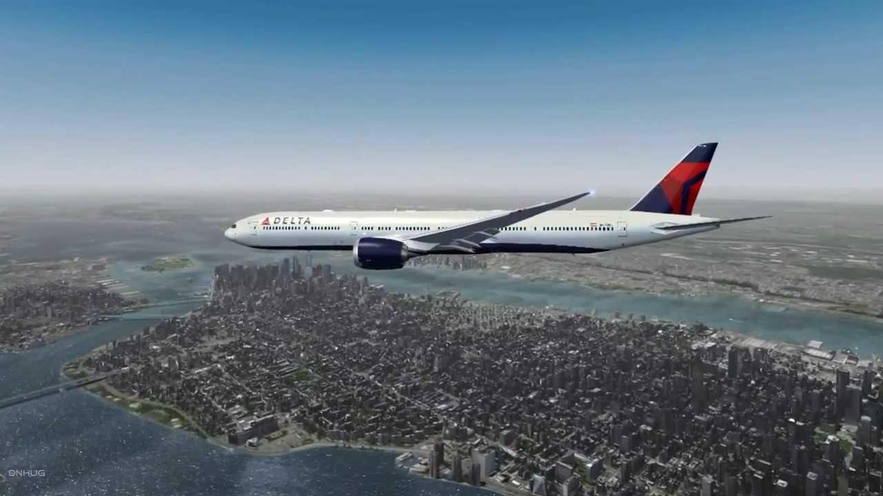 FSX : Boeing B777-900X