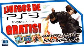 JUEGOS de PS3 GRATIS || #Sorteo50 #VDTecno