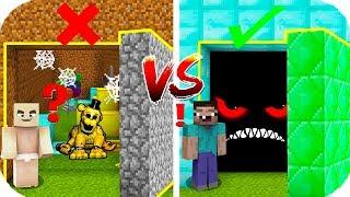 YANLIŞ GİZLİ GEÇİTİ SEÇERSEN ÖLÜRSÜN! 😱 Minecraft