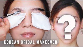 Korean Celebrity Makeup Artist Gives Me A Bridal Makeover