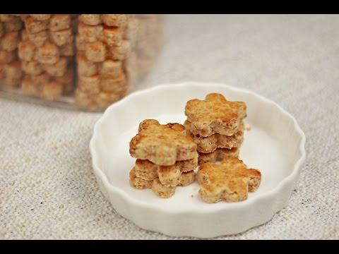 Chinese Peanut Cookies (花生饼干) - Chinese New Year - Recipe By ZaTaYaYummy