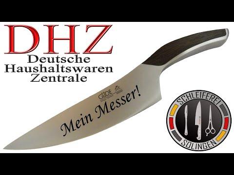 DHZ Deutsche Haushaltswaren Zentrale - Messer Schärfen Schleiferei Gravuren
