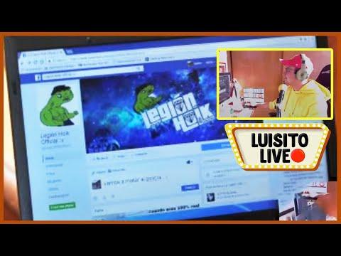 Legion Holk vs SDLG ' Luisito LIVE 15