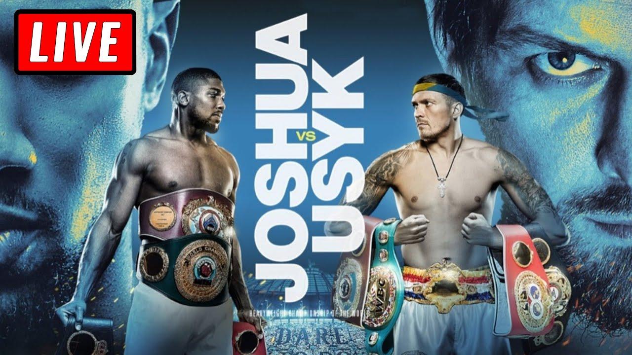Anthony Joshua vs. Oleksandr Usyk live fight updates, results ...