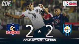 Colo Colo 2 - 2 Huachipato | Campeonato AFP PlanVital 2019 Segunda Fase | Fecha 10 | CDF