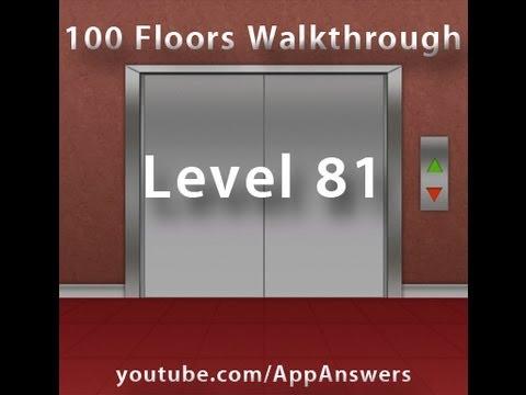 100 Floors Level 81 Answer Youtube