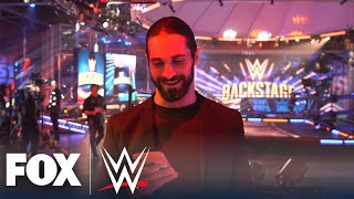 Seth Rollins picks Becky Lynch, The Fiend to form a new stable | WWE BACKSTAGE | WWE ON FOX
