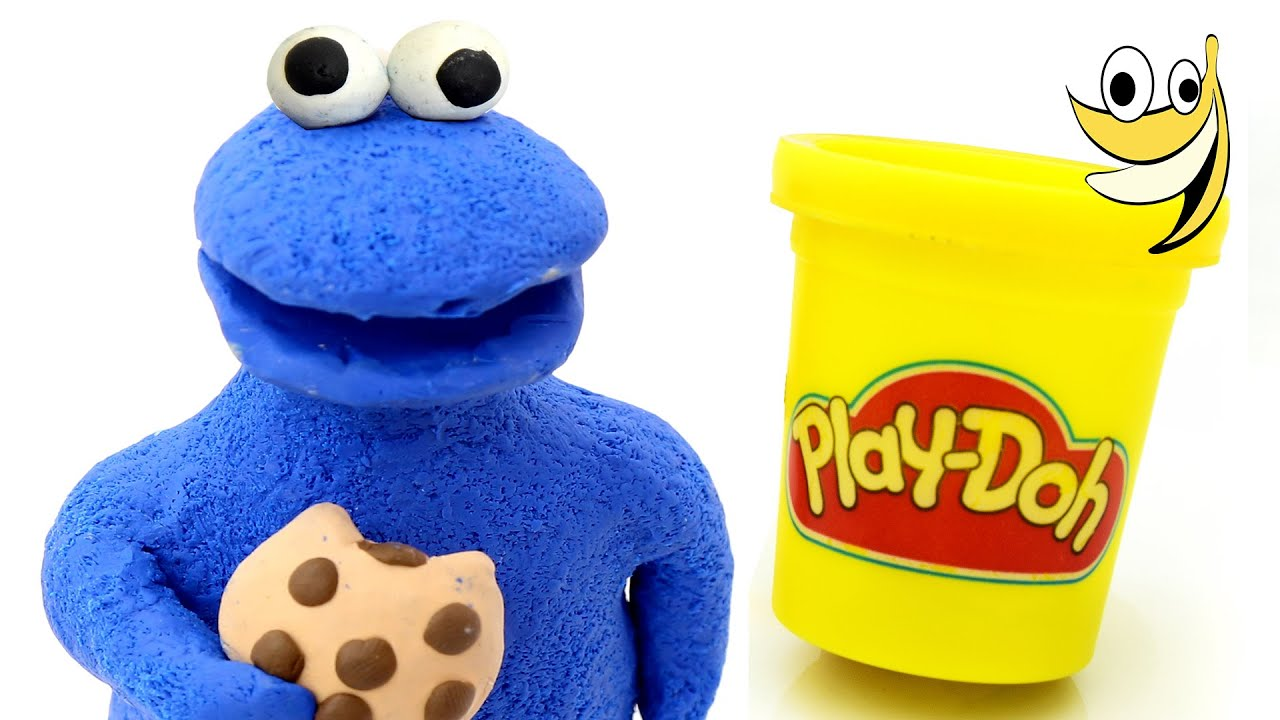 Play doh cookie monster sesame street stop motion animation play doh cookie monster sesame street stop motion animation monstruo de las galletas youtube voltagebd Images