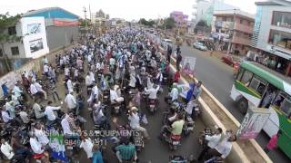 Aerial Videography with Flycam for MLA Kotamreddy Sridhar Reddy garu rally