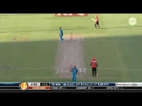 chris lynn has a dig at channel 10 telecast