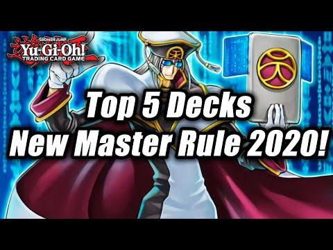 Yugioh top decks 2020