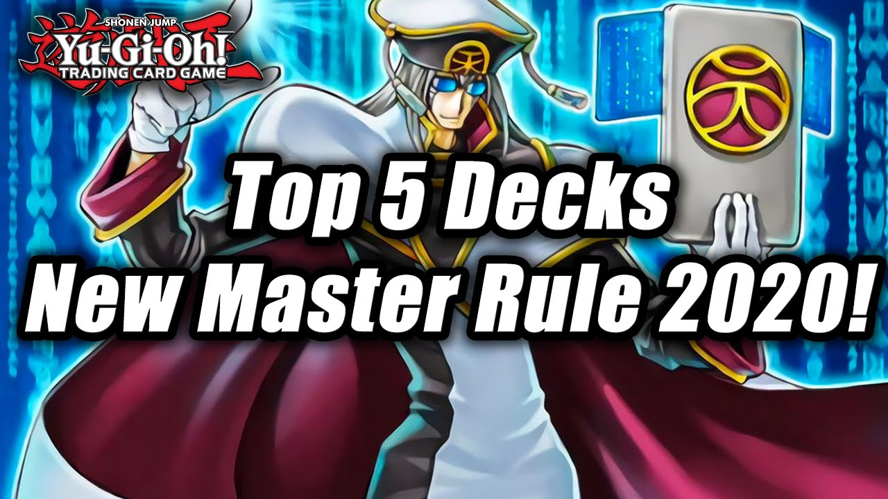 Yu Gi Oh Top 5 Decks Post New Master Rule 2020 Format Youtube