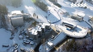 Funpark Bobrovy Log will host Alpine skiing events - 29th Winter Universiade 2019❄️ Krasnoyarsk