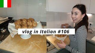 Vlog in Italian #106: facciamo le ciambelline al vino