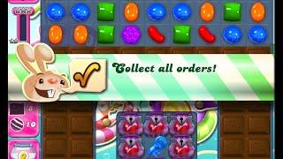 Candy Crush Saga Level 1030 walkthrough (no boosters)