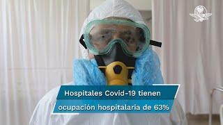 La Secretaría de Salud capitalina comenzó con la reconversión de hospitales en la Ciudad de México, ante el incremento de casos por Covid-19