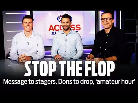 Access All Areas: Stop the 'flopping', boys | Round 7, 2018 | AFL