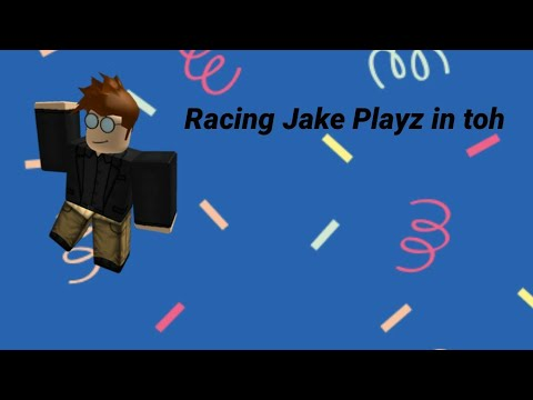 Racing Jake Playz (his Channel Will Be In The Description Below)