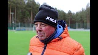 Александр Тарханов: «У всей команды положительные эмоции от тренировки на льду»