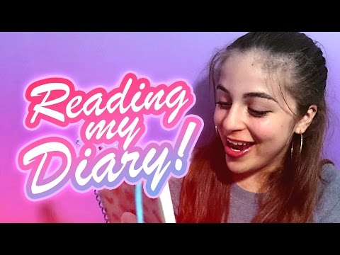 READING MY DIARY!  Ba Ariel