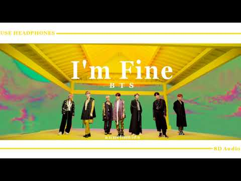 BTS (방탄소년단) - I'm Fine [8D AUDIO] USE HEADPHONES 🎧